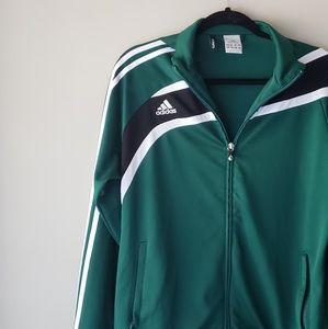 •Adidas• Zip up Track Jacket